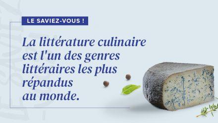 La littérature culinaire est l'un des genres littéraires les plus répandus dans le monde